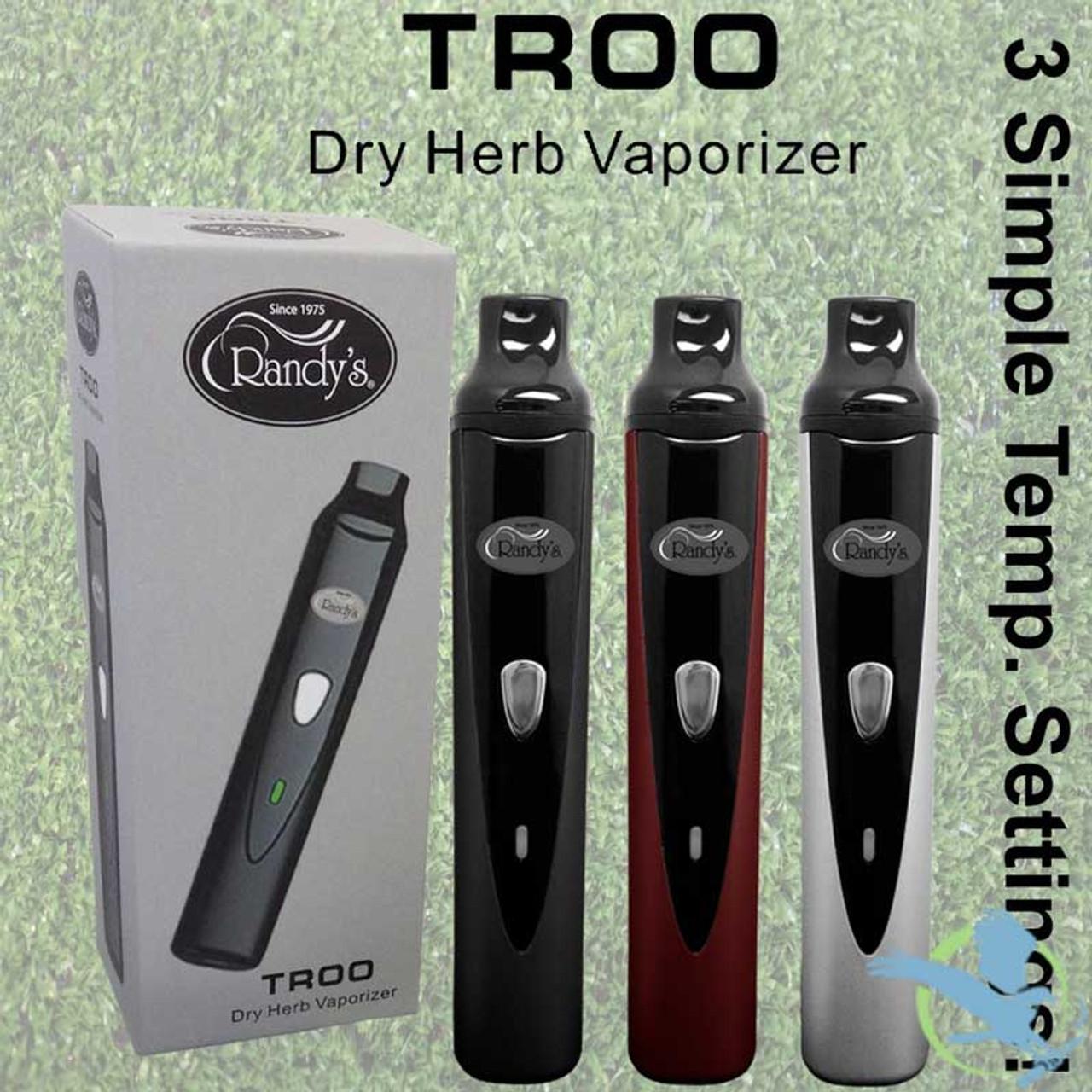 Randy's TROO Dry Herb Vaporizer *Drop Ships* (MSRP $70 00)