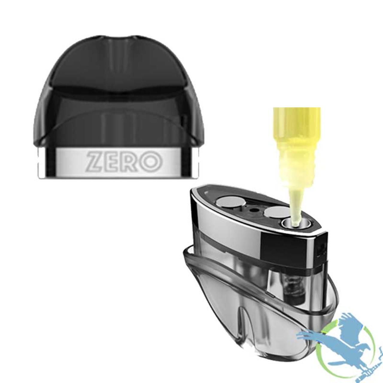 Vaporesso Renova Zero 2ML Refillable Replacement Cartridge Pod - Pack Of 2  (MSRP $10 00)