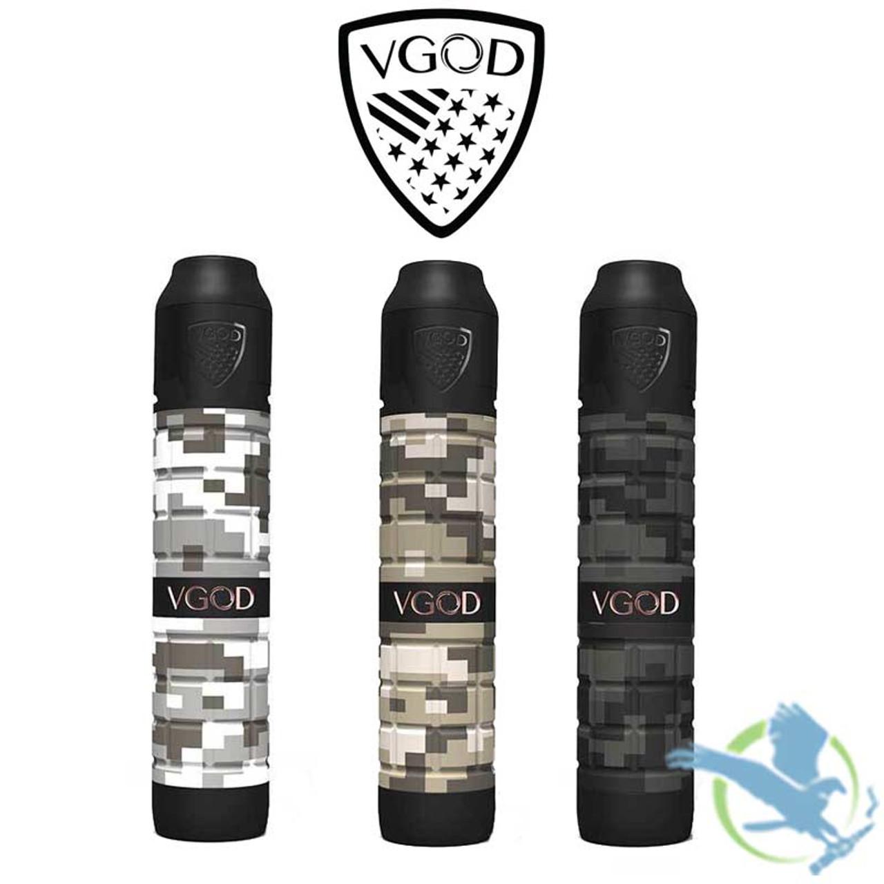 VGOD Pro Mech 2 Delrin Encased Copper Tube Mechanical Mod Kit With 2ML  Elite RDA - Camo Series (MSRP $100 00)