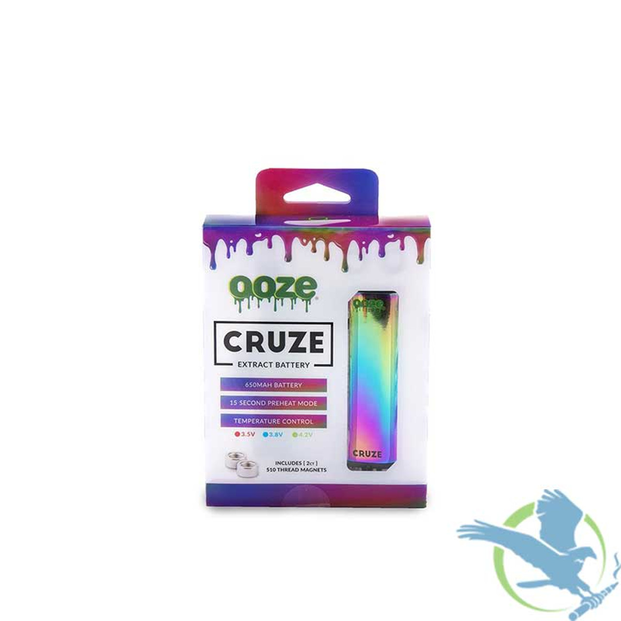 Ooze Cruze Variable Voltage Extract Battery Vaporizer Mod (MSRP $24 99)