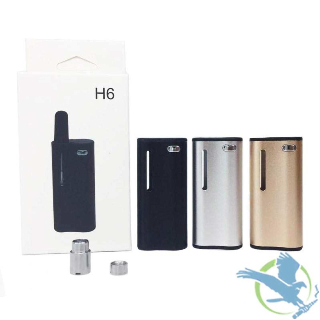 Hibron H6 Variable Voltage 350mAh Oil Vaporizer Kit (MSRP $15 00)