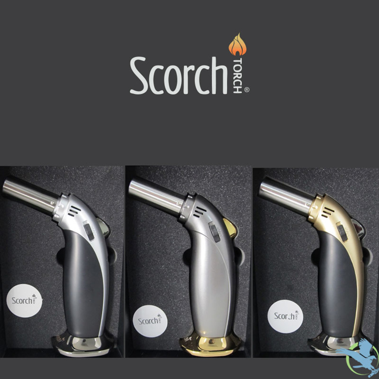 Scorch Heavy Duty Single Flame Butane Torch - 6 5 Inches [61539] (MSRP  $25 00)