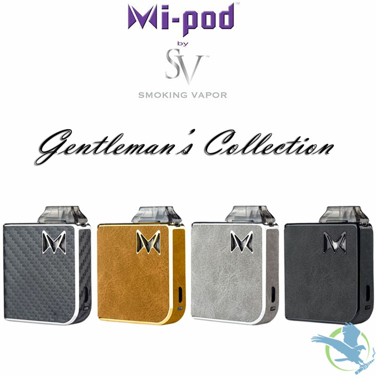 Smoking Vapor Limited Edition Mi-Pod Gentleman's Collection Pod System With  2 Refillable Pods ( MSRP $44 99)