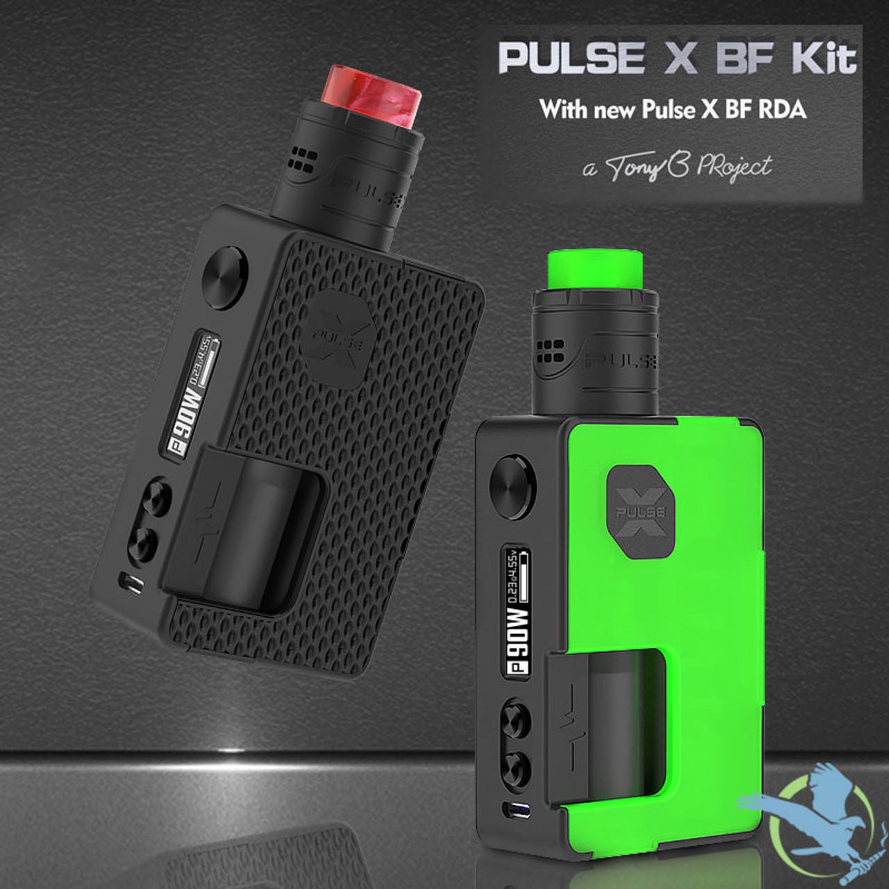 Vandy Vape Pulse X 90W 8ML BF Squonk Starter Kit With Pulse X RDA (MSRP  $115 00 - $120 00)
