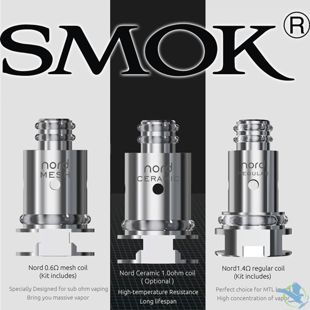 SMOK Nord Replacement Coils - Pack of 5 (MSRP $20 00 - $25 00)