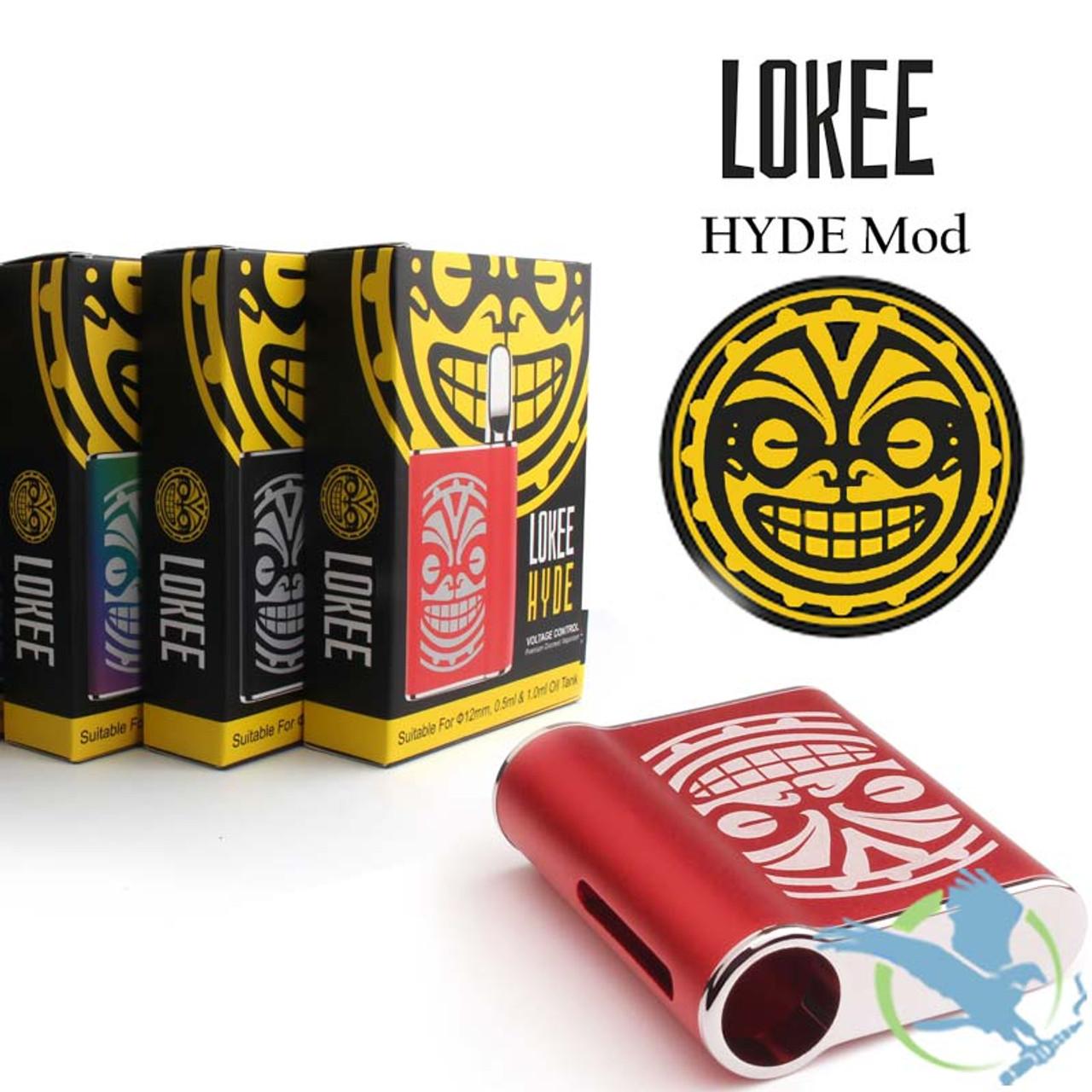 Lokee Hyde 450mAh VV Preheat Oil Vaporizer Mod (MSRP 29 99)