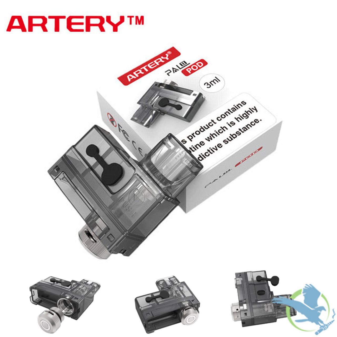 Artery PAL II 3ML Replacement Pod Cartridge - Single (MSRP $5 00)