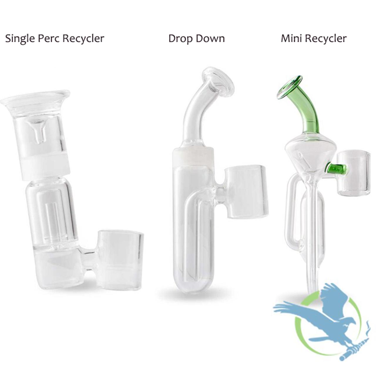 DBR Portable E-Nail Glass Bubbler By Sutra Vape *Drop Ships* (MSRP $40 00)