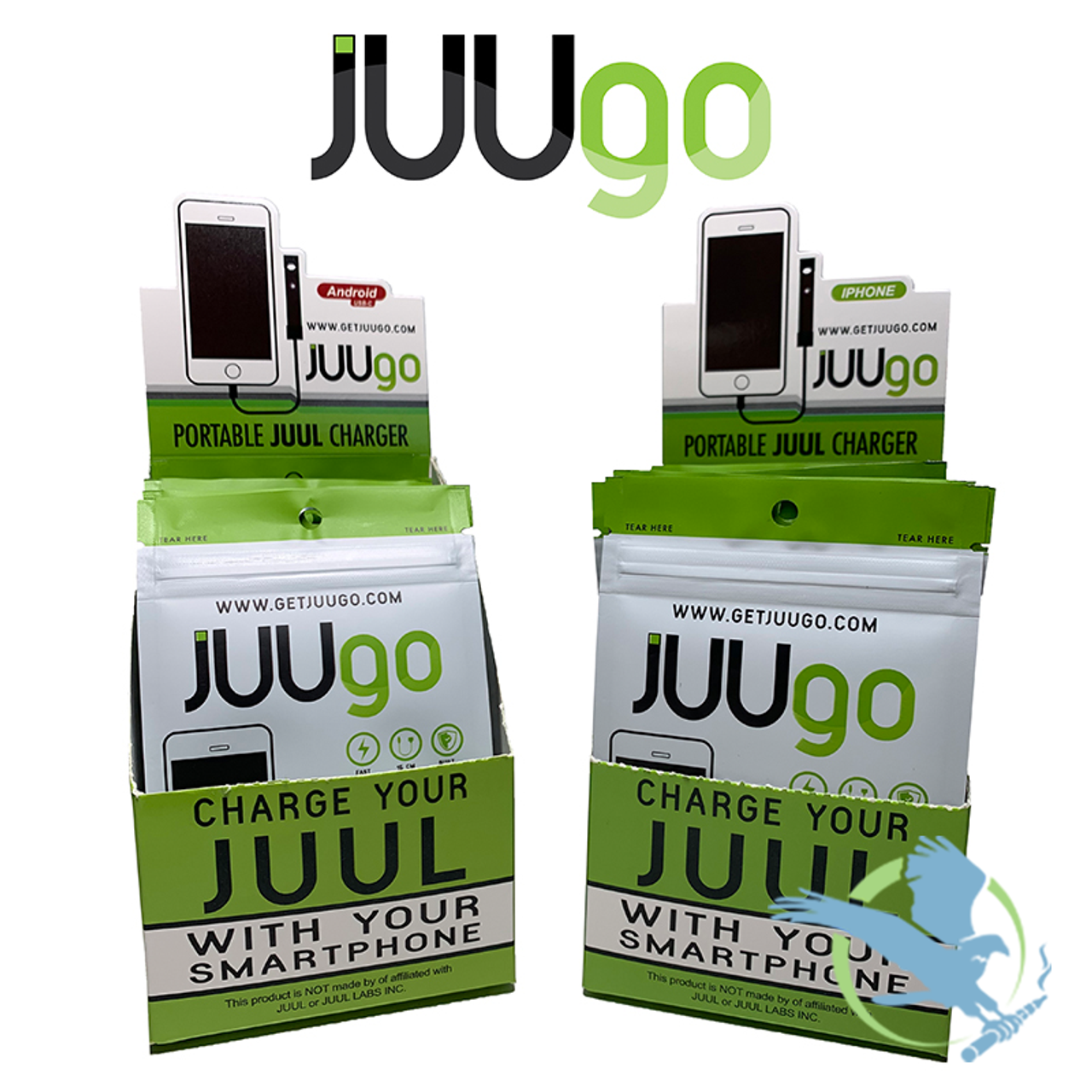 JUUGO 24 Pack Display For IPhone And Android *Drop Ships* (MSRP $15 00 Per  Cable)