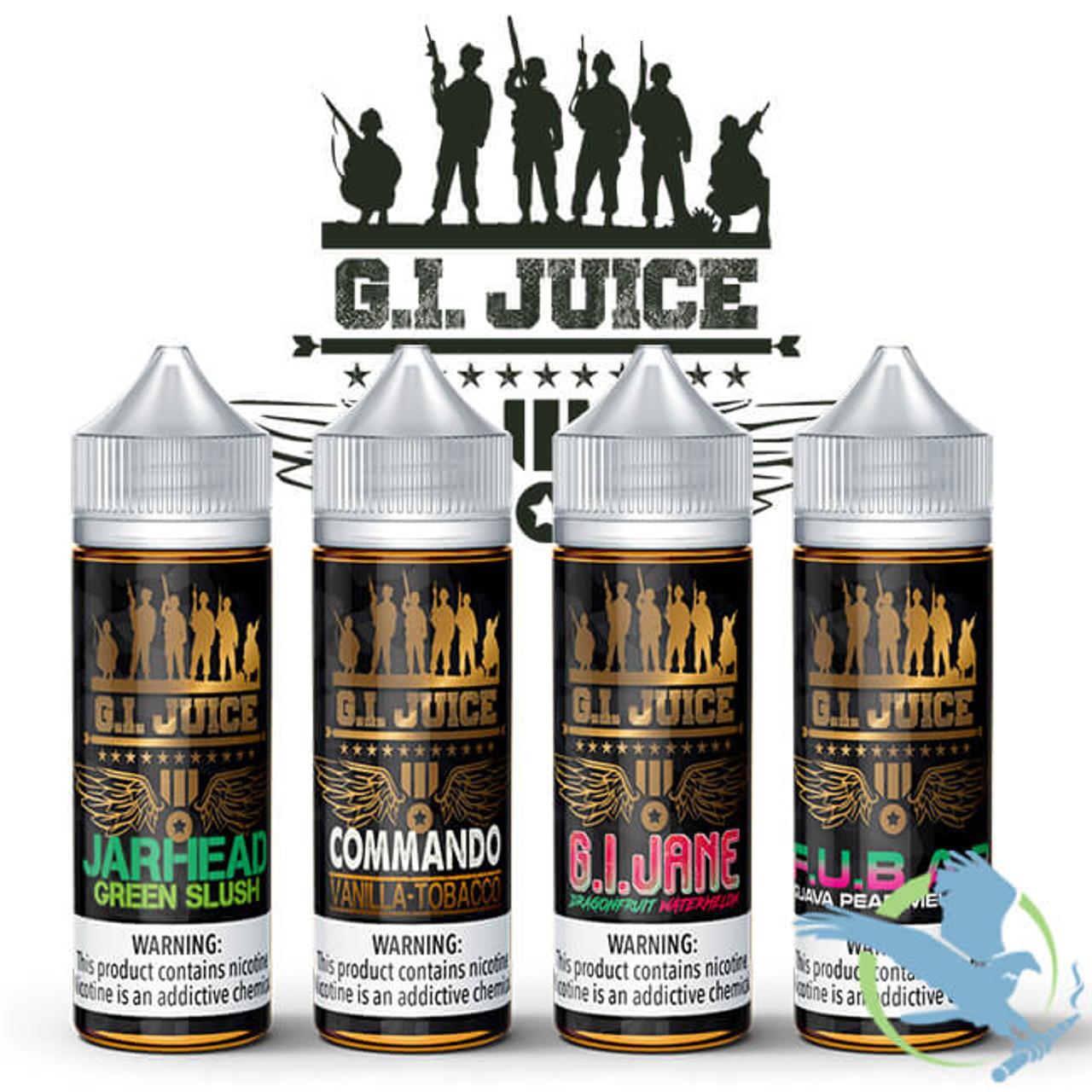 G I  Juice By Fuggin Vapors E-Liquid 120ML *Drop Ships* (MSRP $26 00)