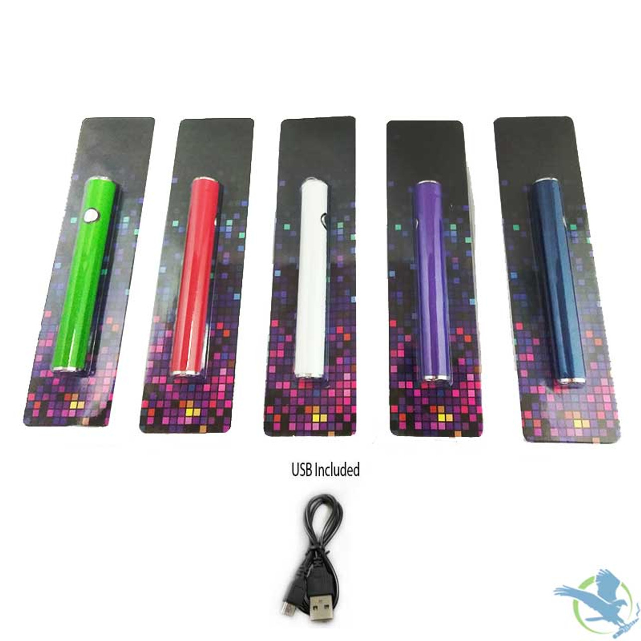 Variable Voltage 510 Thread CE3 400mAh Battery With Micro USB Passthrough  And USB Cable Included (MSRP $15 00)