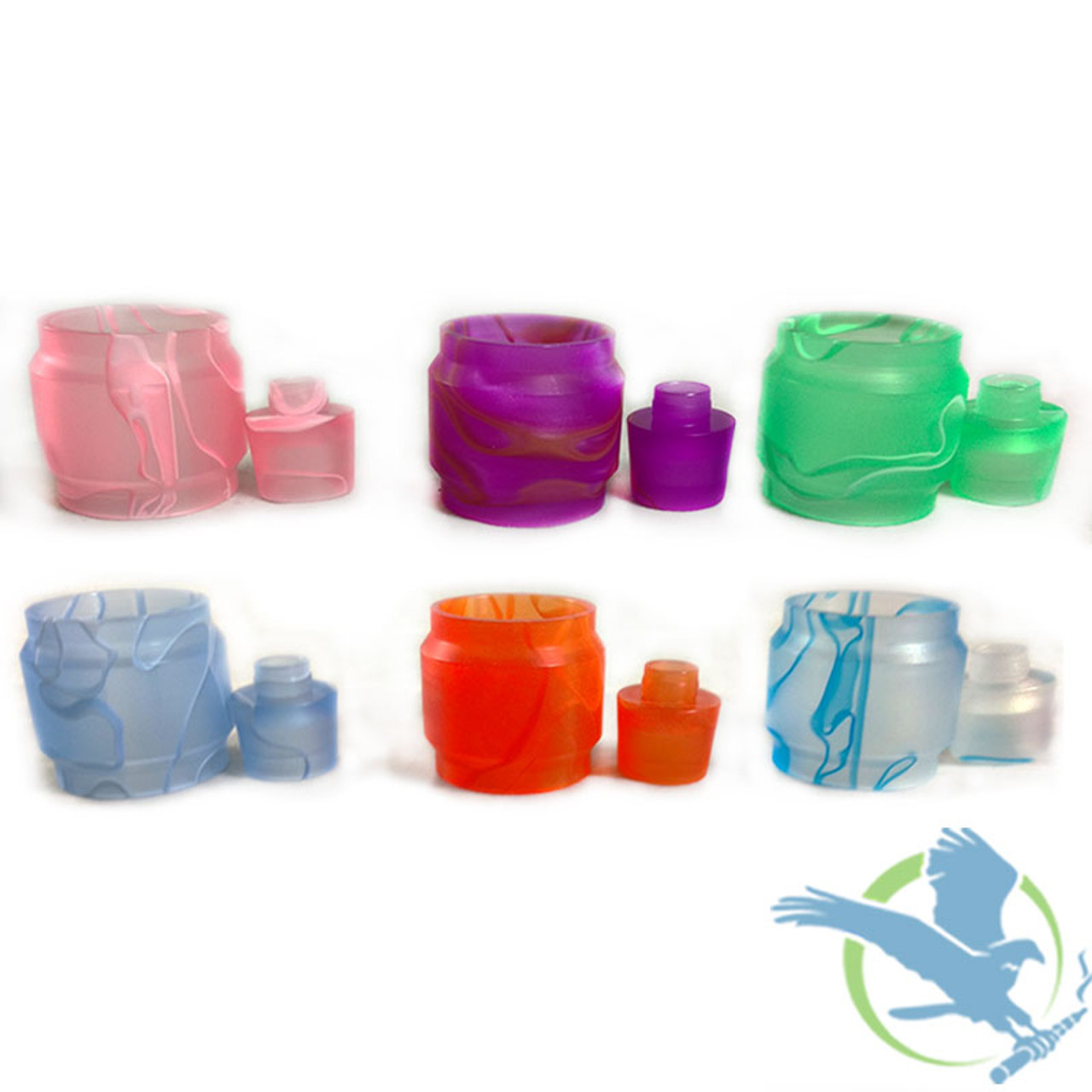 Resin Replacement Tube With Drip Tip - Uwell Valyrian Sub Ohm - Single -  Assorted Colors [AV-UV013] (MSRP $12 00)
