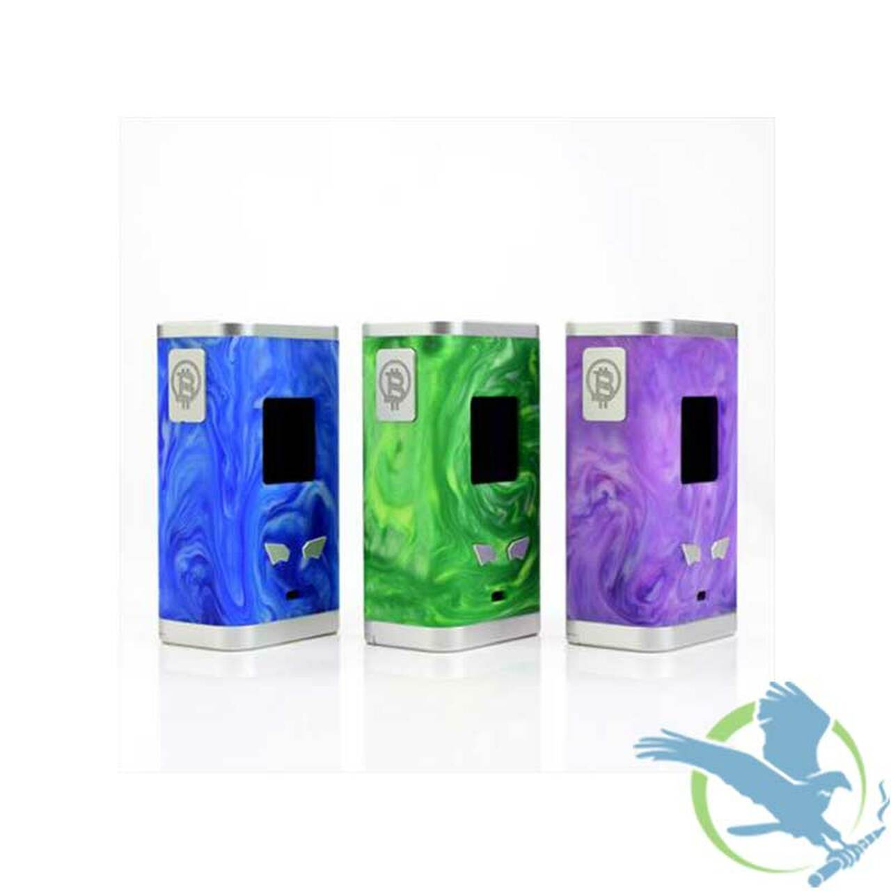 Famovape Bit Box Premium Resin 218W TC Box Mod (MSRP $90 00)