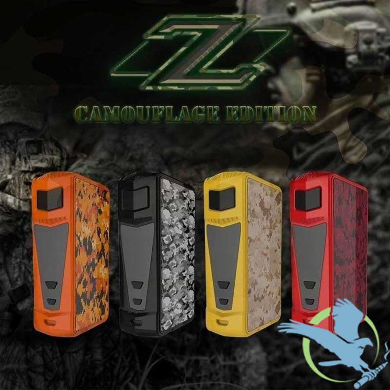 0a5491a7585b37 Sigelei Kaos Z Camouflage Edition 200W TC Box Mod | Box Mods ...