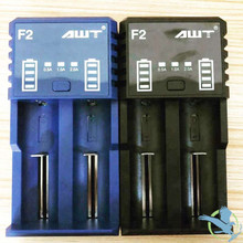 AWT F2 Dual Slot 2A Battery Wall Charger