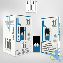 Bidi Vapor 0.7ML Prefilled Replacement Compatible Pods - Display of 5 - Double Blueberry