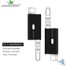 Airistech Airis Janus 650mAh Variable Voltage 2in1 CE3 Cartridge & Pod Compatible Vaporizer Mod