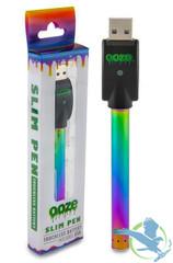 Ooze Twist Adjustable Voltage Preheat Slim Pen Battery With USB