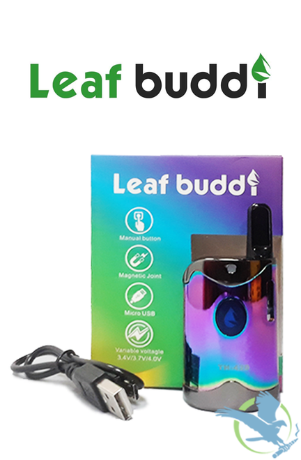 Leaf Buddi TH-420 Mini Box Variable Voltage 650mAh Starter Kit With 0.5ML CCell CE3 Cartridge - Rainbow