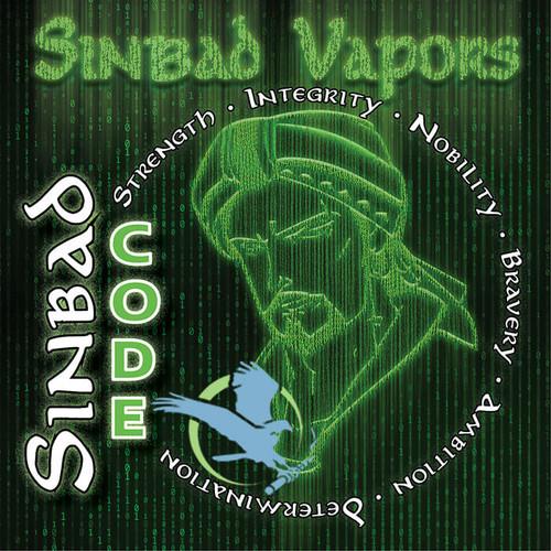 Code By Sinbad Vapors E-Liquid 120ML *Drop Ships* (MSRP $30.00)