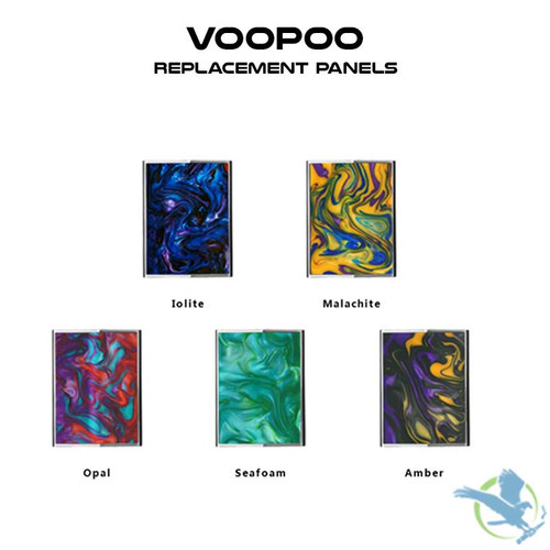 Voopoo Too Replacement Resin Panels - Pack Of 2
