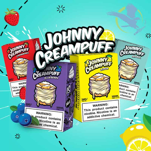 Johnny Creampuff E-Liquid By Tinted Brew 100ML