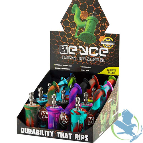Eyce Silicone Rig II - Display of 9 - Assorted Colors