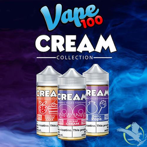 Cream Collection By Vape 100 E-Liquid 100ML
