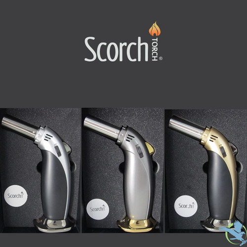 Scorch Heavy Duty Single Flame Butane Torch - 6.5 Inches [61539]