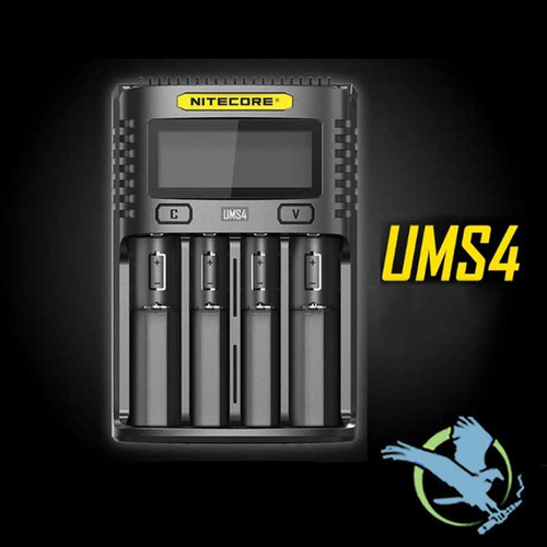 Nitecore UMS4 Quad Slot 3A Smart Charger