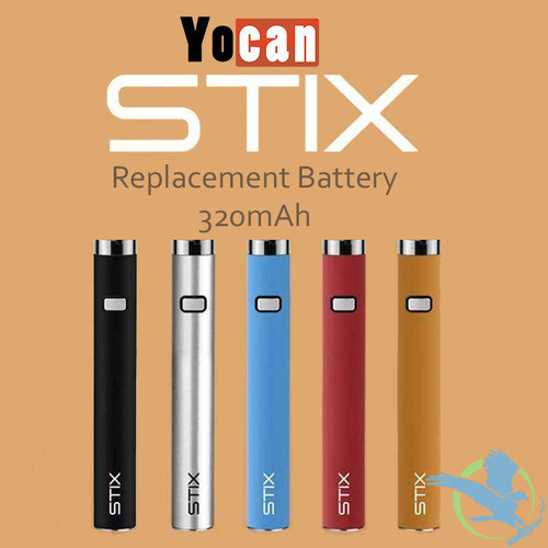 Yocan Stix 320mAh Replacement Battery - Pack of 5