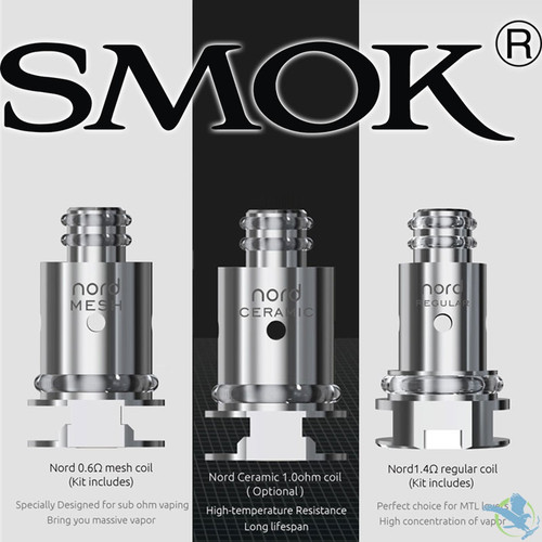 SMOK Nord Replacement Coils - Pack of 5