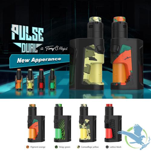 Vandy Vape Pulse Dual 18650 Squonk Starter Kit With 2ML Pulse V2 RDA (MSRP  $125 00 - $130 00)