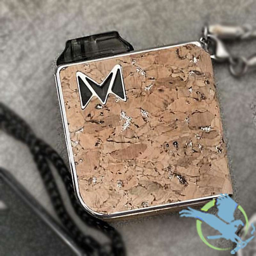 Smoking Vapor Limited Edition Mi-Pod Cork Collection Pod System With 2 Refillable Pods - Silver Cork