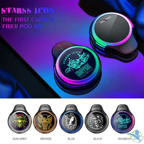Starss ICON 380mAh Pod System Starter Kit With 2x2ML Refillable Pods