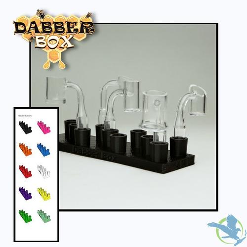 Dabber Box 3D Printed Full Tray Male Banger Holder