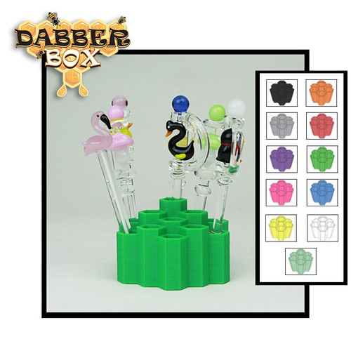 Dabber Box 3D Printed Large Dabber Holder