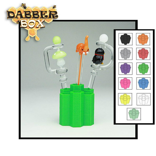 Dabber Box 3D Printed Small Dabber Holder