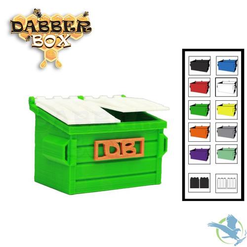 Dabber Box 3D Printed QTip Dumpster