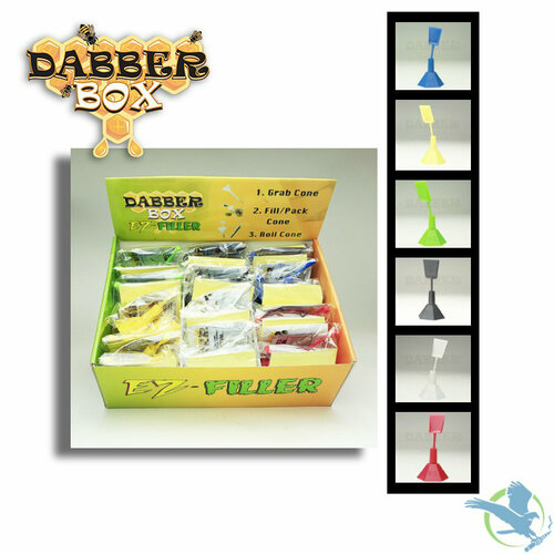 Dabber Box EZ Filler Cone Packer Box Of 24