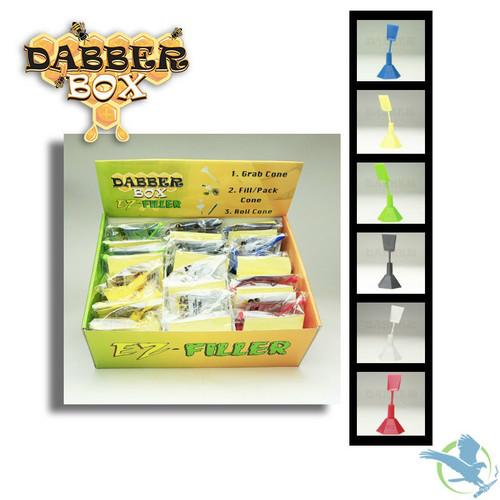 Dabber Box EZ Filler Cone Packer Box Of 24