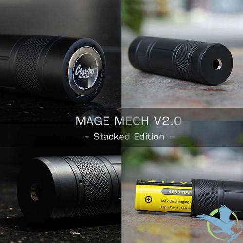 CoilART Mage Mech V2 0 Mod - Stacked Edition (MSRP $85 00)