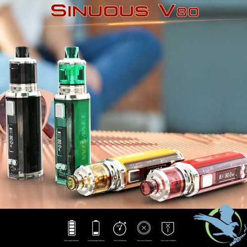 Wismec Sinuous V80 Starter Kit 80W With 3ML Amor NSE Tank