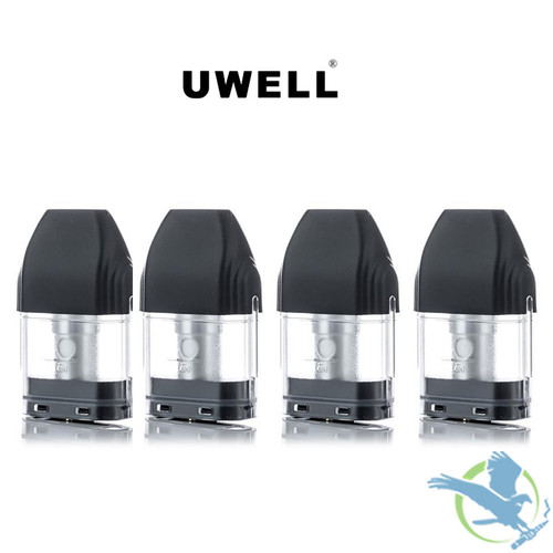Uwell Caliburn 2ML Refillable Replacement Pod Cartridge - Pack of 4