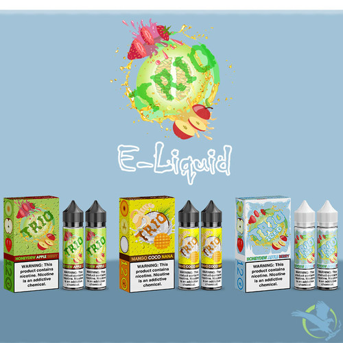 Trio E-Liquid 120ML(2x60ML)