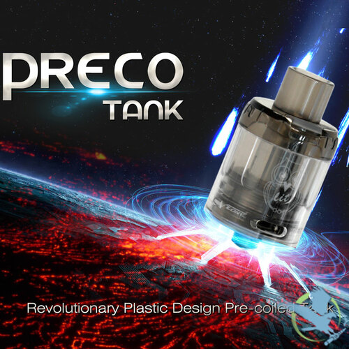 VZone Preco 24MM 3ML Disposable Mesh Sub-Ohm Tank - Single