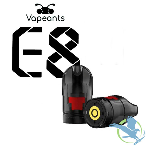 Vapeants E8 1.2ML Refillable Replacement Pods - Pack of 3