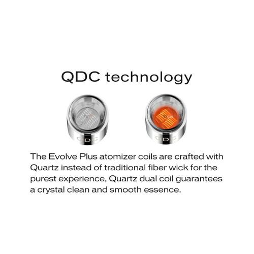 Yocan Evolve Plus Quartz Dual Coils - Pack of 5 (MSRP 20.00)