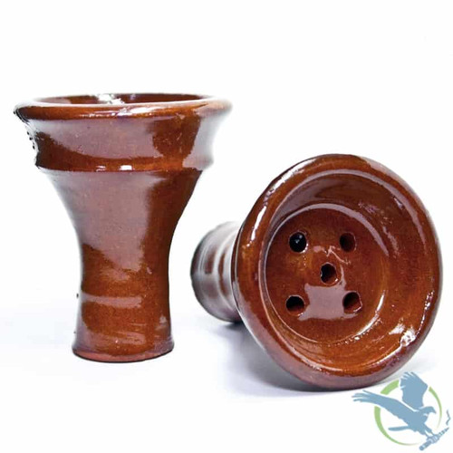 Large Egyptian Clay Hookah Bowl - Assorted Colors