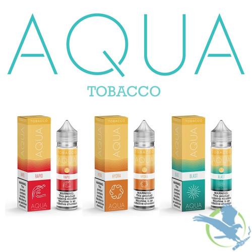 Aqua Tobacco Collection E-Liquid By Marina Vape 60ML (MSRP $25.00)